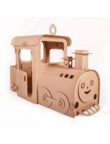 """Домик из картона """"Паровозик из Лукошкино"""" CartonHouse, размер 150х60х100см"""