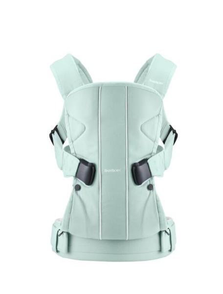 """BabyBjorn """"One IceCream"""" Многофункциональный рюкзак-кенгуру для ношения ребёнка на груди и на спине, Фисташковый"""