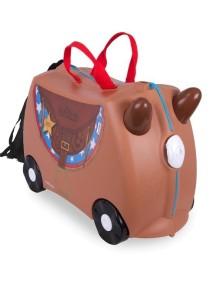 "Trunki / ""Bronco - Лошадка Бронко"" / Детская каталка-чемодан Транки"