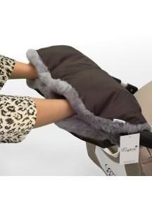 Муфта для рук на коляску универсальная Esspero Solana - Brown (коричневый)