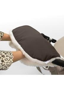 Муфта для рук на коляску универсальная Esspero Soft Fur - Chocolat (шоколад)