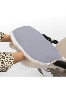 Муфта для рук на коляску универсальная Esspero Soft Fur - Blue Mountain (голубой)