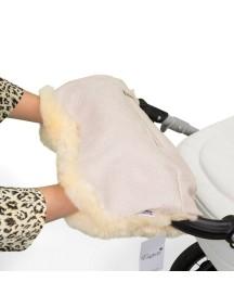Муфта для рук на коляску универсальная Esspero Julia - Cream (кремовый)