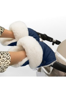 Муфта-рукавички для коляски универсальная Esspero Christer - Navy (синий)