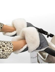 Муфта-рукавички для коляски универсальная Esspero Christer - Grey (серый)
