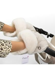 Муфта-рукавички для коляски универсальная Esspero Christer - Beige (бежевый)