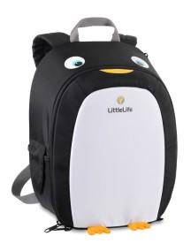 Рюкзак LittleLife Пингвин (3-5) черный с белым