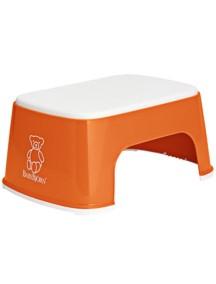 """BabyBjorn / """"Safe Step"""" / Универсальный стульчик - подставка для ребенка  / оранжевый"""