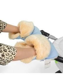 Муфта-рукавички для коляски универсальная Esspero Oskar - Blue Mountain (голубой)