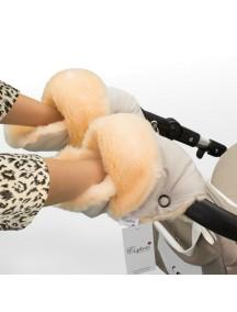 Муфта-рукавички для коляски универсальная Esspero Oskar - Beige (бежевый)