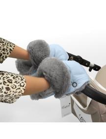 Муфта-рукавички для коляски универсальная Esspero Christoffer - Blue Mountain (голубой)