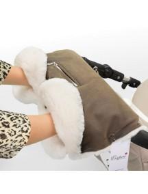 Муфта для рук на коляску универсальная Esspero Stella  - Brown (коричневый)