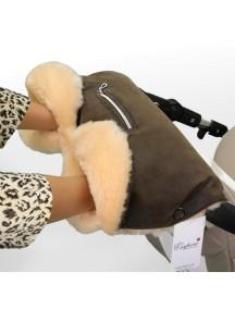 Муфта для рук на коляску универсальная Esspero Isabella - Brown (коричневый)