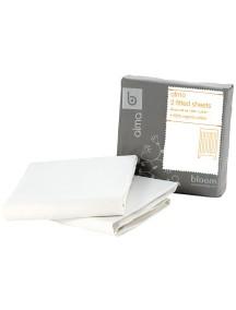 Комплект простыней для кровати ALMA Papa белый, Bloom