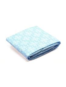 Комплект простыней для кровати ALMA Papa голубой, Bloom