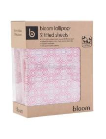 Комплект простыней для кровати ALMA Papa розовый, Bloom