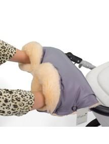 Муфта для рук на коляску универсальная Esspero Diaz Lux - Grey (серый)
