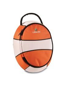 Ланч бокс LittleLife Рыбка-клоун оранжевый с белым