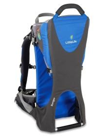 Рюкзак-переноска LittleLife Ranger серый с синим