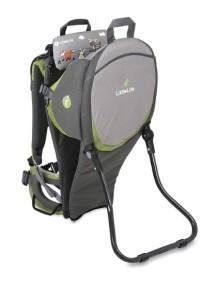 Рюкзак-переноска LittleLife Discoverer S2 серый с зеленым