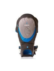 Рюкзак-переноска LittleLife Explorer S2 серый с синим