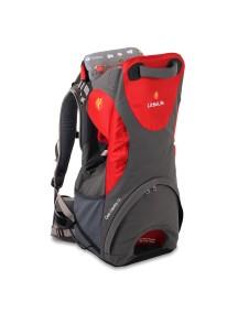 Рюкзак-переноска LittleLife Cross Country S3  серый с красным
