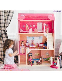 "Домик для Барби ""МУЗА"" (лифт, лестница, мебель), PAREMO"