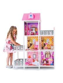 Дом для кукол Барби с 5 комнатами, PAREMO