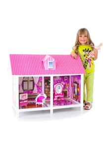 Дом для кукол Барби с 2 комнатами, PAREMO
