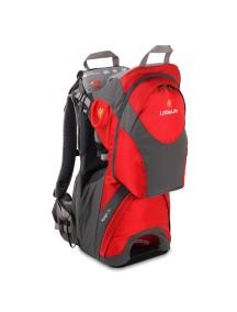 Рюкзак-переноска LittleLife Voyager S3 серый с красным