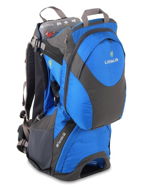 Рюкзак-переноска LittleLife All Terrain S2 серый с синим
