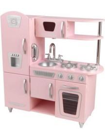 "Кухня ""ВИНТАЖ"",  цв. Розовый, KidKraft"