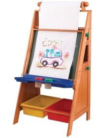 Детский стол-мольберт с системой хранения, KidKraft
