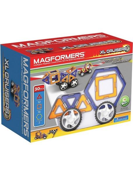 Магнитный конструктор MAGFORMERS 63073 Xl cruisers машины