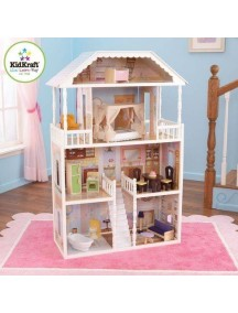 """Кукольный домик для Барби """"САВАННА"""", с мебелью 14 элементов, KidKraft"""
