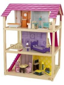 """Кукольный домик для Барби """"САМЫЙ РОСКОШНЫЙ"""", с мебелью 50 элементов, KidKraft"""