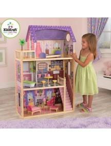 """Кукольный домик для Барби """"КАЙЛА"""", с мебелью 10 элементов, KidKraft"""