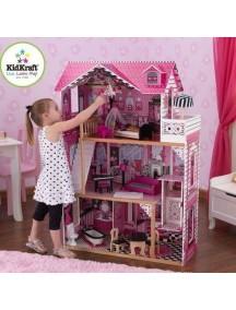 """Кукольный домик для Барби """"АМЕЛИЯ"""", с мебелью 15 элементов, KidKraft"""