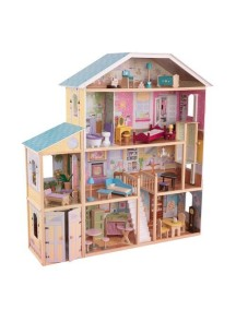 """Кукольный домик для Барби """"ВЕЛИКОЛЕПНЫЙ ОСОБНЯК"""", с мебелью 34 элемента, KidKraft"""