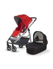 Детская коляска UPPAbaby Cruz (Аппабейби Круз) 2в1 Красная