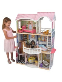 """Кукольный домик для Барби """"МАГНОЛИЯ"""", с мебелью 13 элементов, KidKraft"""