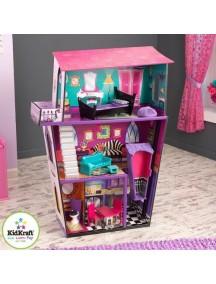 """Кукольный домик для Monster High """"Поместье Монстров"""", с мебелью 10 элементов, KidKraft"""