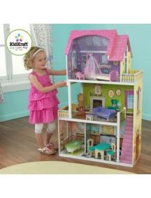 """Кукольный домик для Барби """"ФЛОРЕНС"""", с мебелью 9 элементов, KidKraft"""