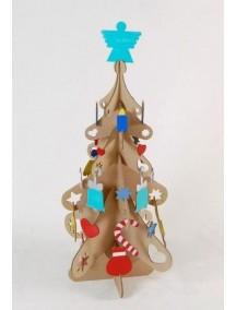 Набор для творчества из картона «Новогодняя  елка», размер 68х140 см