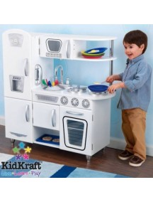 "Кухня ""РЕТРО"", цв. Белый, KidKraft"