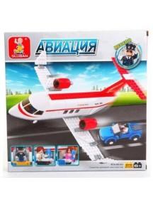 """Конструктор """"Самолет BO-365"""", 275 дет., SLUBAN"""
