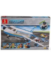 """Конструктор """"Самолет BO-366"""", 463 дет., SLUBAN"""
