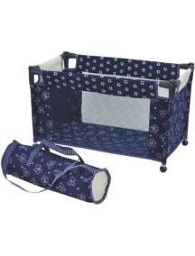Кровать-манеж для куклы, складывающаяся, с чехлом, ROYAL DIMIAN (Германия)