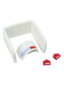 Комплект ремней Foppapedretti Set omologato Auto для крепления люльки в автомобиле White