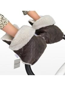 Муфта-рукавички для коляски универсальная Esspero Karolina - Brown (коричневый)